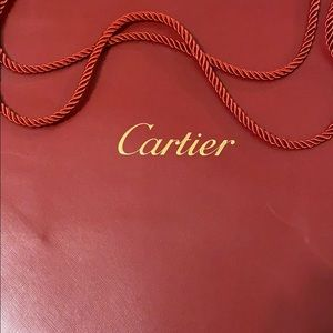 Cartier medium sized paper bag